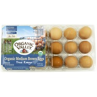 Organic Valley Organic Medium Brown Eggs