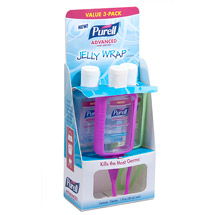 PURELL Advanced Refreshing Gel Hand Sanitizer Jelly Wrap Carriers