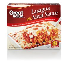 Great Value Party Size Lasagna