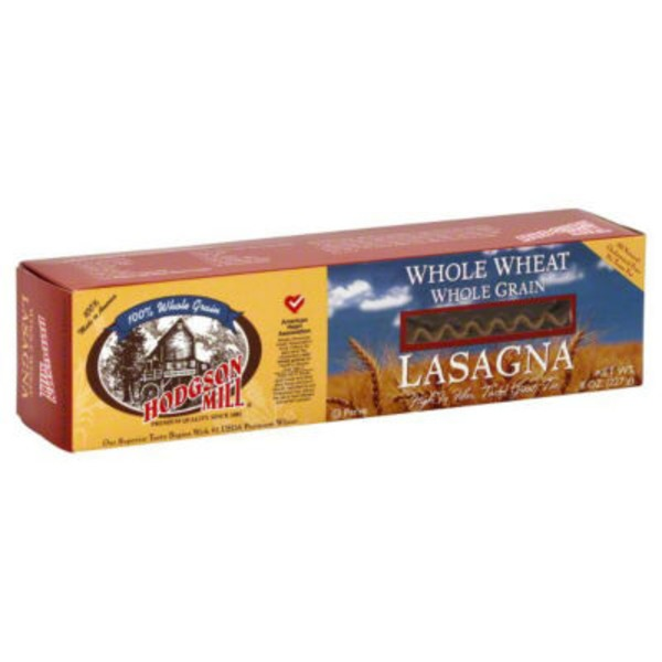 Hodgson Mill Whole Grain Lasagna Whole Wheat