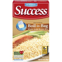Success Boil-In-Bag Whole Grain Brown 4 Ct Rice