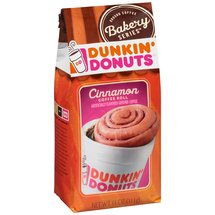 Dunkin' Donuts Bakery Series Cinnamon Coffee Roll Ground Coffee