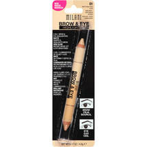 Milani Brow & Eye Highlighters 01 Matte Beige/High Glow
