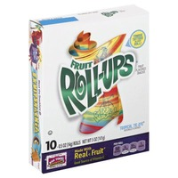 Betty Crocker Fruit Roll-Ups Tropical Tie-Dye Fruit Flavored Snacks