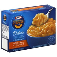 Kraft Dinners Deluxe Original Cheddar Macaroni & Cheese Dinner