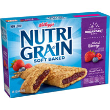 Kellogg's  Nutri Grain Cereal Bars Mixed Berry