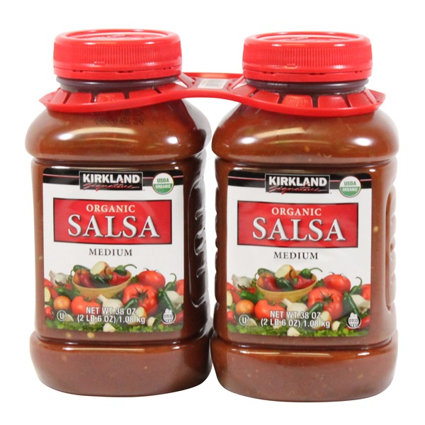 Kirkland Signature Organic Medium Salsa
