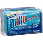 Brillo Estracell Kitchen & Bathroom Scrub Sponges