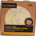Marketside 16 Inch Five Cheese Traditional Crust Pizza