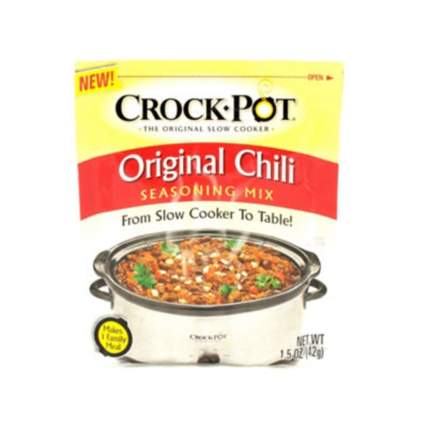 Crock Pot Original Chili Seasoning Mix