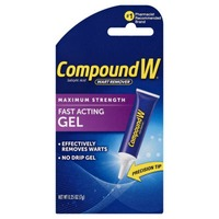Compound W Wart Remover, Maximum Strength, Fast-Acting Gel