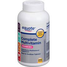 Equate Complete Multivitamin Women 50+ Multivitamin/Multimineral Supplement