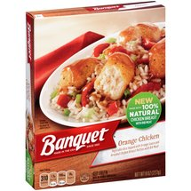 Banquet Orange Chicken Frozen Entree