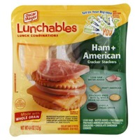 Oscar Mayer Lunchables Cracker Stackers Ham & American Cheese