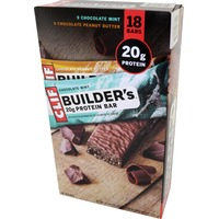 Clif Builder's® Builder's Chocolate Mint/Chocolate Peanut Butter Variety Pack Protein Bar