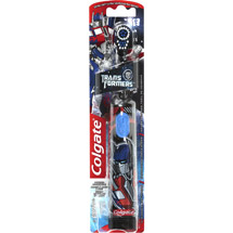 Colgate Transformers Battery Powered Extra Soft Toothbrush