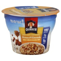 Quaker Oatmeal Honey & Alomnd Instant Oatmeal