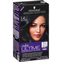 Schwarzkopf Color Ultime Magnificent Blacks Hair Coloring Kit 1.4 Sapphire Black