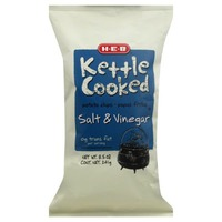 H-E-B Salt & Vinegar Kettle Cooked Potato Chips