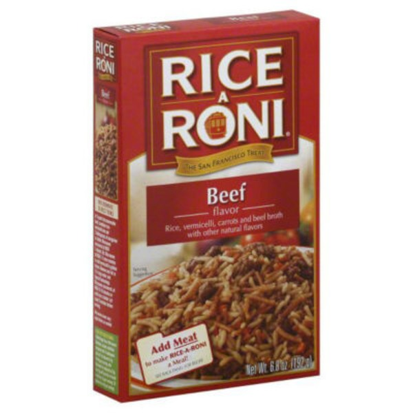 Rice-a-Roni Beef Flavored Rice Rice Mix