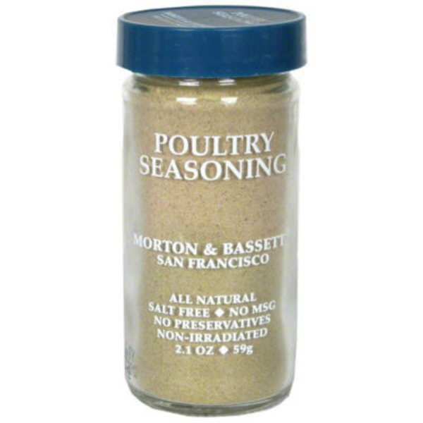 Morton & Bassett Spices Poultry Seasoning
