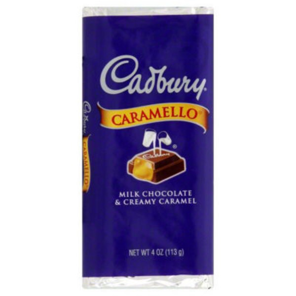 Cadbury Caramello Milk Chocolate Candy Bar