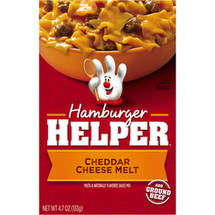 Betty Crocker: Classic Cheddar Cheese Melt Hamburger Helper