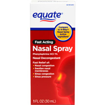 Equate Fast Acting Nasal Four Spray
