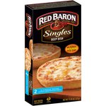 Red Baron Singles Deep Dish 4 Cheese Pizzas