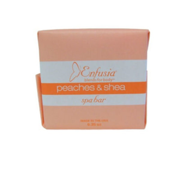 Enfusia Peaches & Shea Spa Soap Bar