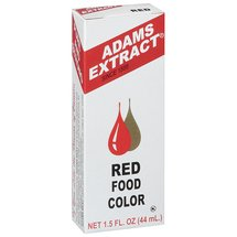 Adams Extract Red Food Color Baking Supply