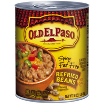 Old El Paso Spicy Fat Free Refried Beans