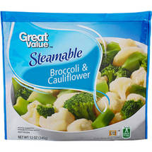 Great Value Steamable Broccoli & Cauliflower