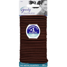 Goody Ouchless No Metal Elastics Chocolate Cake