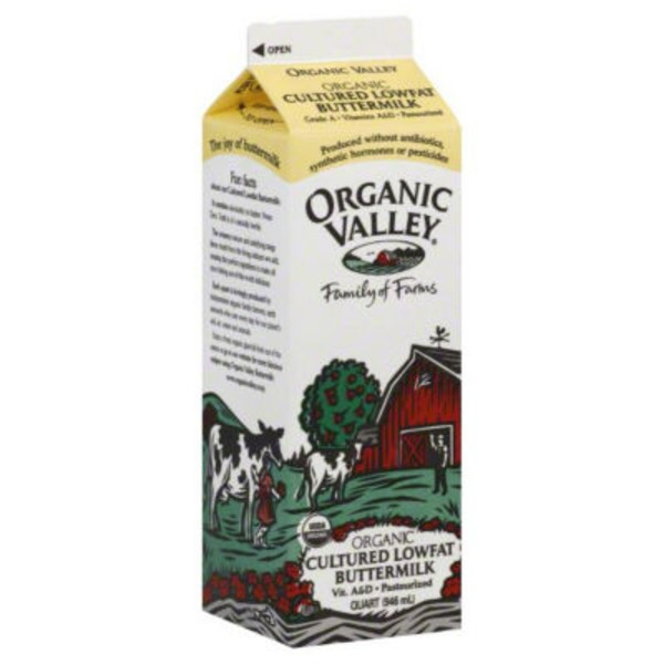 Organic Valley Cultured Lowfat Organic Buttermilk