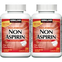 Kirkland Signature Extra Strength Non Aspirin Acetaminophen