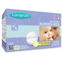 Lansinol Disposable Nursing Pads