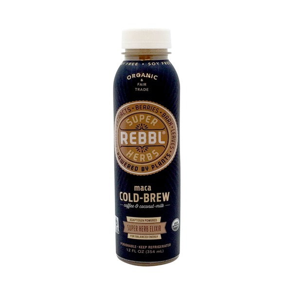 Super Rebbl Herbs Maca Cold Brew Coffee Super Herb Elixir