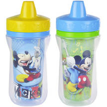 The First Years Meal Mates Mickey Mouse Insulated 9 oz. Sippy Cup BPA Free
