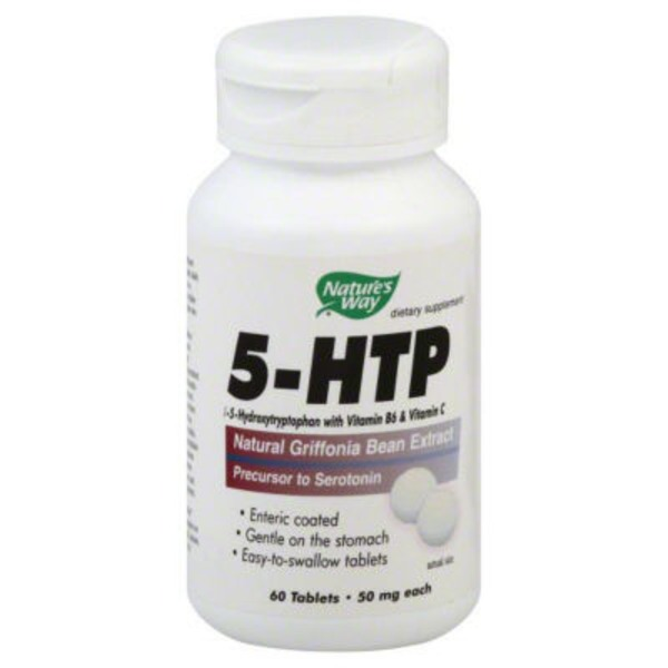 Nature's Way 5-HTP 50 mg Tablets