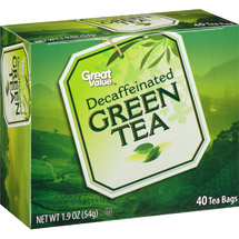 Great Value Decaffeinated Green Tea Tea Bags