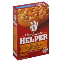 Betty Crocker Deluxe Cheeseburger Macaroni Hamburger Helper