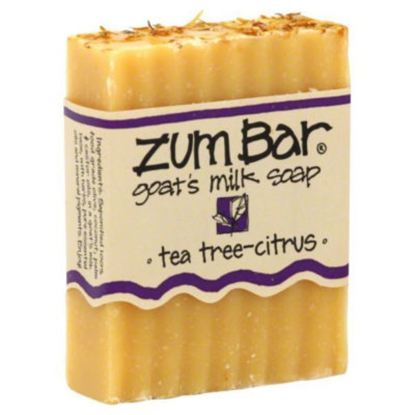 Zum Bar Tea Tree-Citrus Goat's Milk Soap