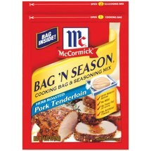 McCormick Bag 'n Season Herb Roasted Pork Tenderloin Seasoning Mix & Cooking Bag