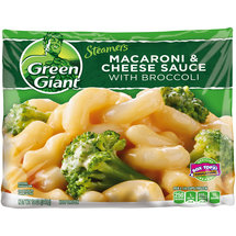 Green Giant Valley Fresh Steamers Macaroni and Cheese with Broccoli