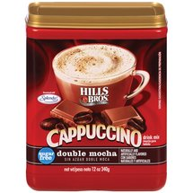 Hills Bros Sugar Free Double Mocha Cappuccino Beverage Mix