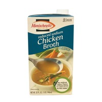 Manischewitz Reduced Sodium Chicken Broth