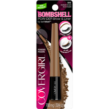 CoverGirl Bombshell by LashBlast Pow-der Brow & Liner 810 Medium Brown