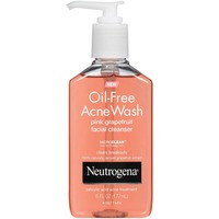 Neutrogena® Facial Cleanser Pink Grapefruit Oil-Free Acne Wash