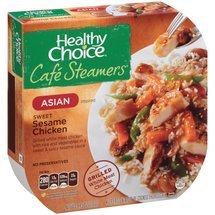Healthy Choice Cafe Steamers Asian Inspired Sweet Sesame Chicken